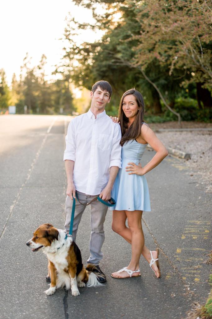 Husband Wife wedding photography team seattle