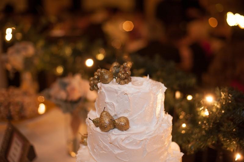 Lady Yum wedding cake
