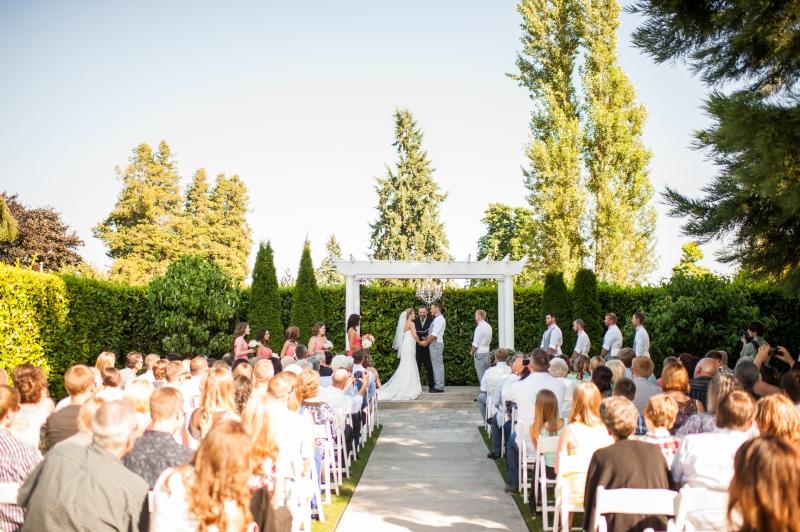 outdoor summer wedding orting wa