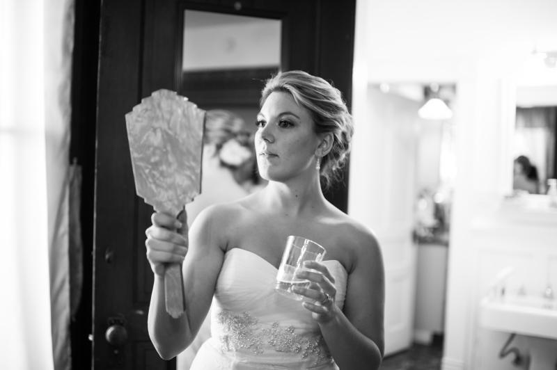 bride seattle black white