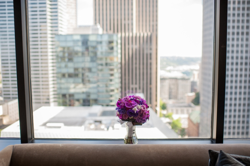 The W Hotel Seattle Wedding