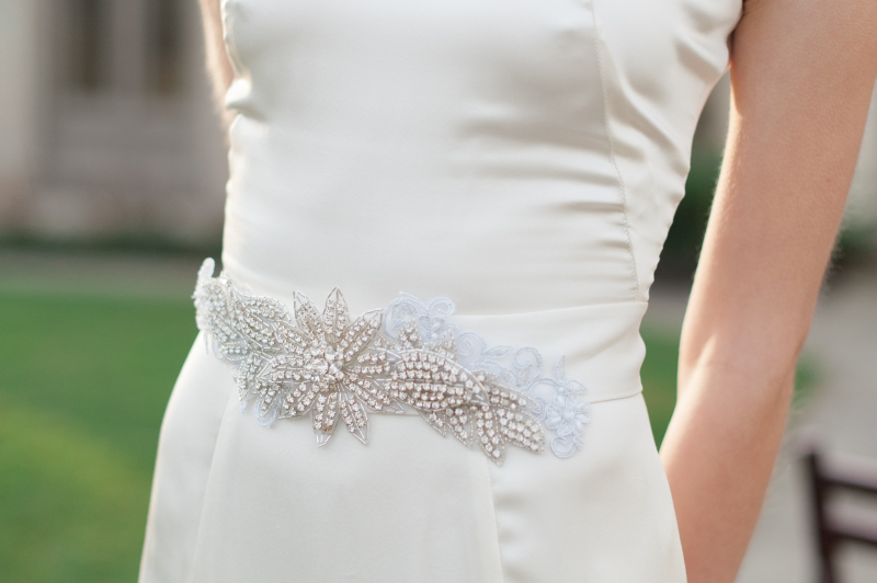 tessa kim bridal belt