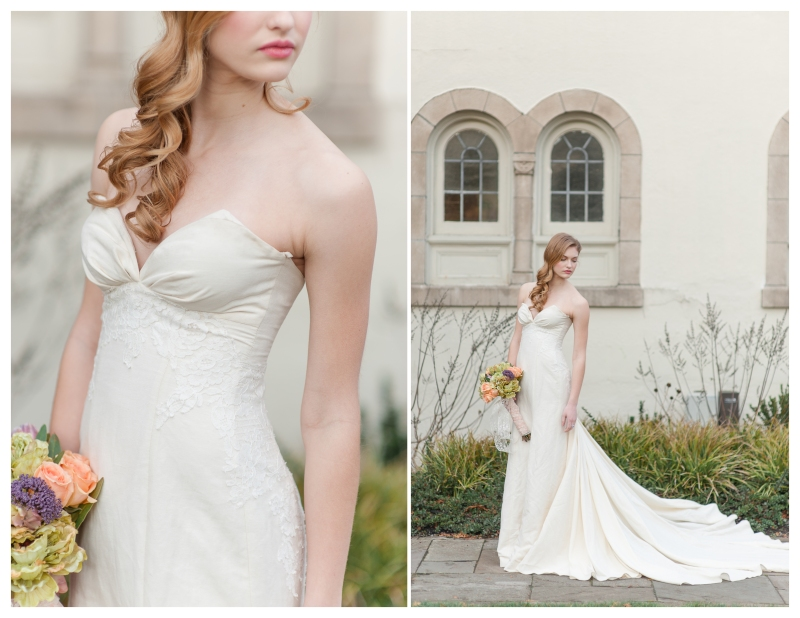 organic cotton wedding gown pure magnolia