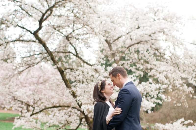 spring wa arboretum cherry blossom portraits