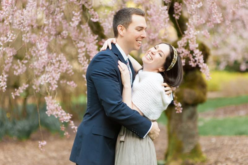 cherry blossom wa arboretum portraits