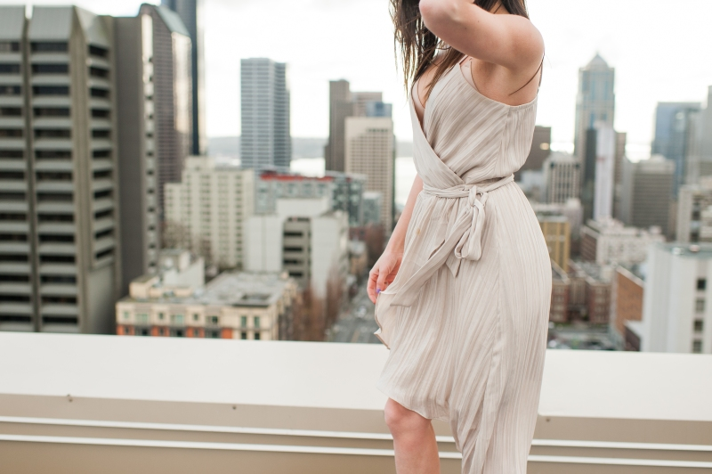 seattle rooftop fashion photography