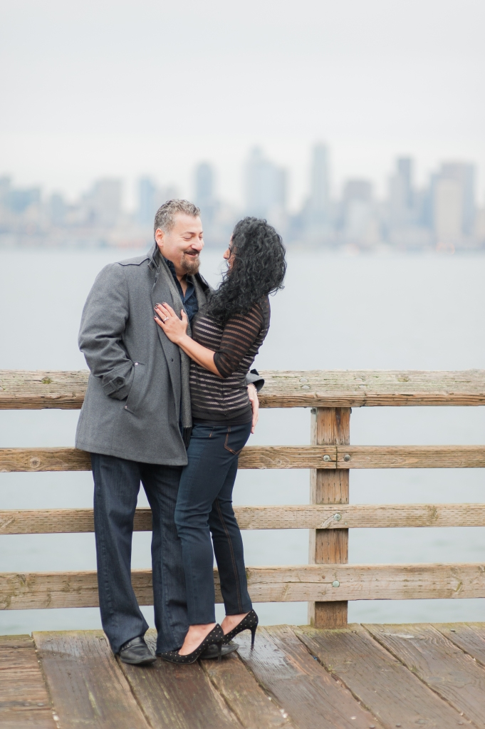 west seattle engagement  photography