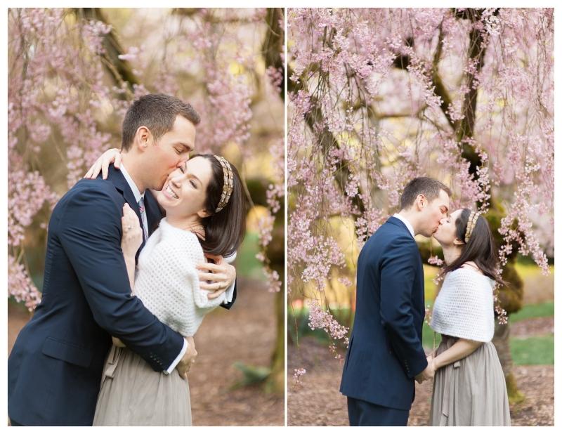 cherry blossom seattle portrait