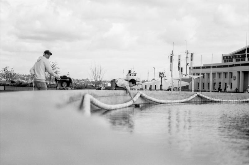 South Lake Union Seattle Film Photography Nikon f100 Kodak Portra 35mm