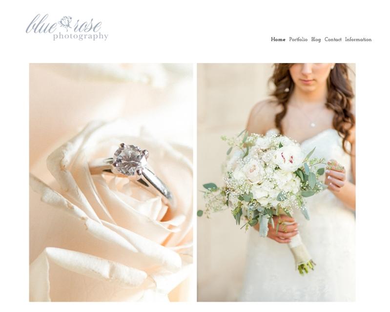 Wedding Photography portfolio website seattle