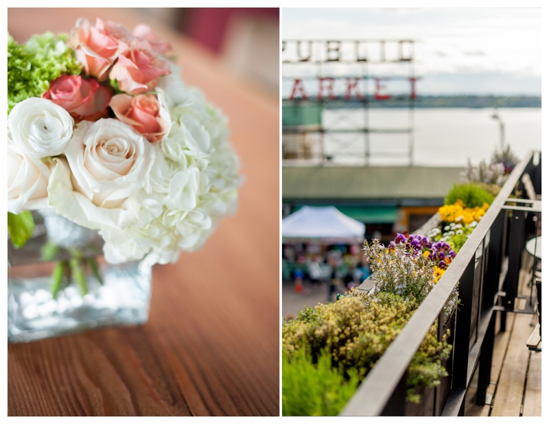beecher's loft Seattle Wedding