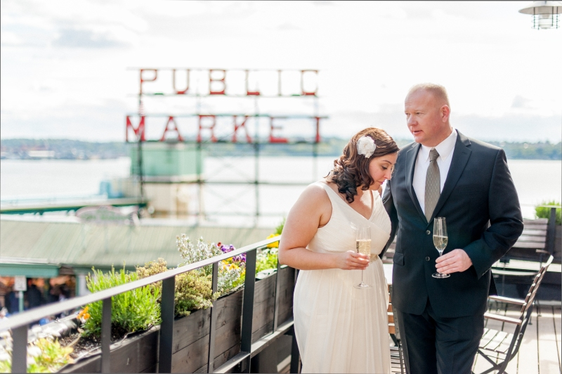 inn at the market pike place wedding seattle