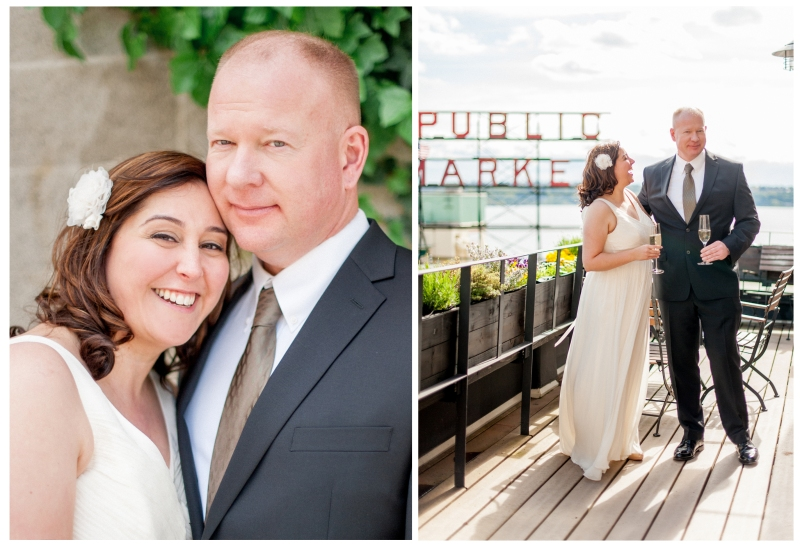 pike place market wedding photography