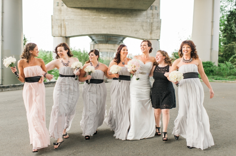 lake union cafe wedding