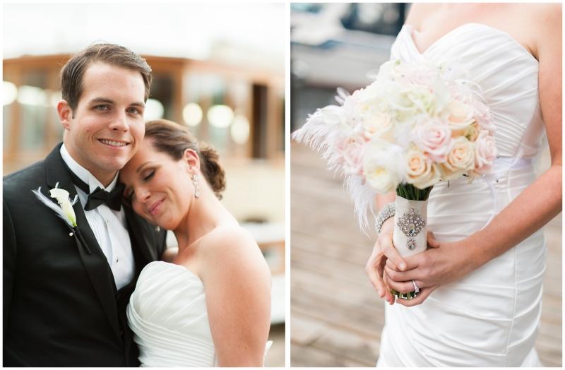 Lake union cafe wedding