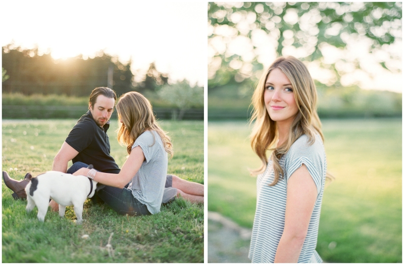 fuji 400h whidbey island engagement session