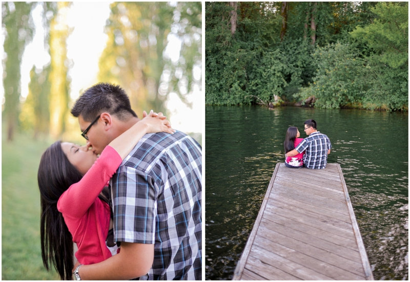 luther burbank park engagement session