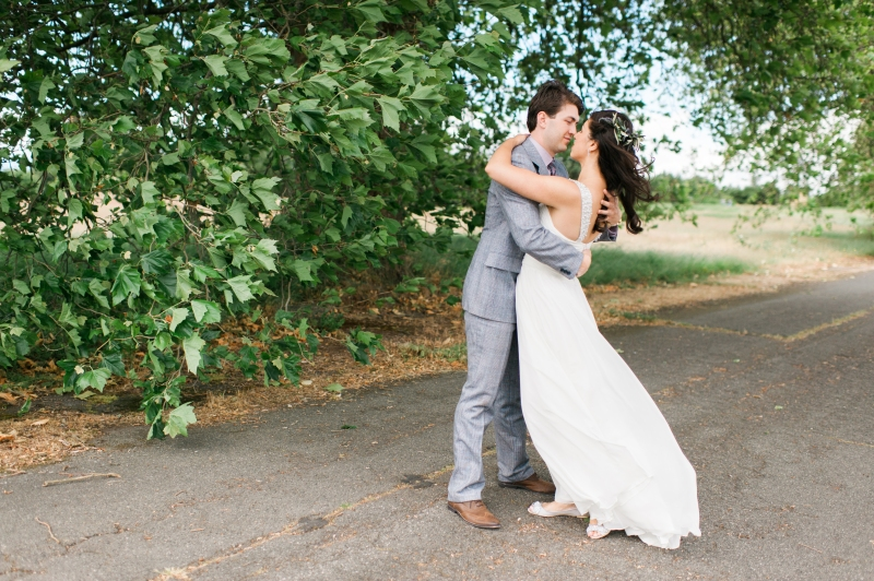 golden gardens wedding seattle film photography