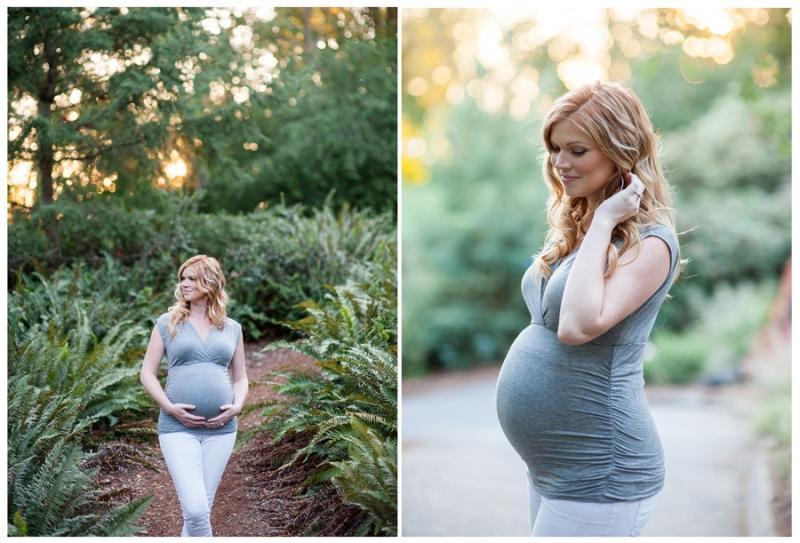 lake washington maternity photos seattle