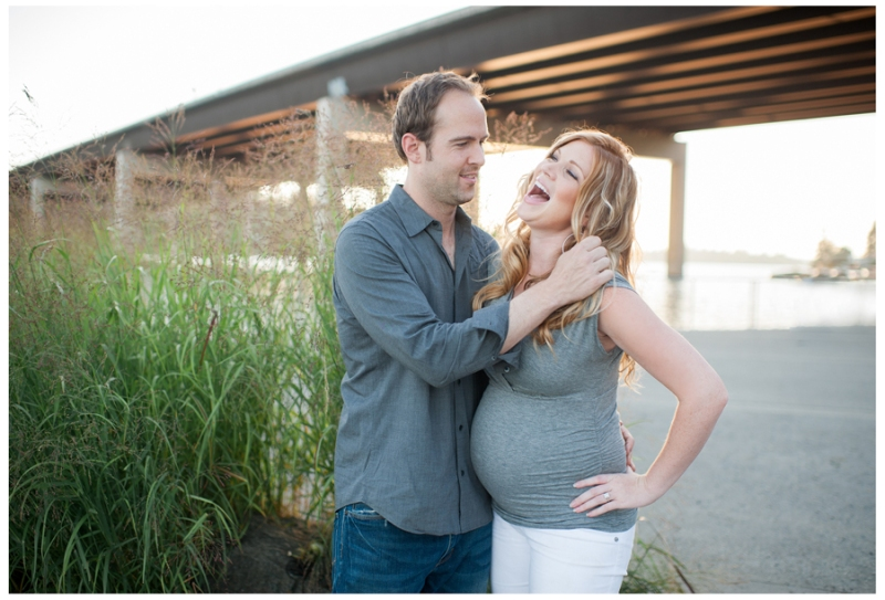 lake washington maternity photos