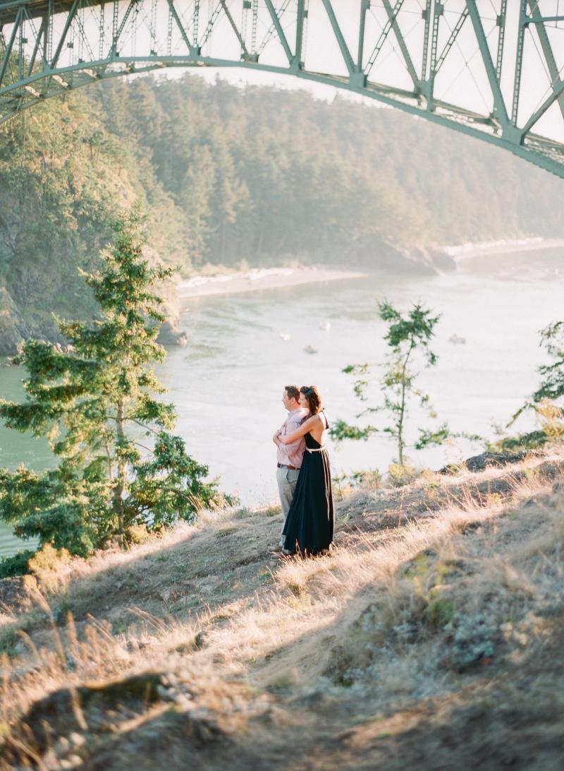 fine art film wedding photographer deception pass
