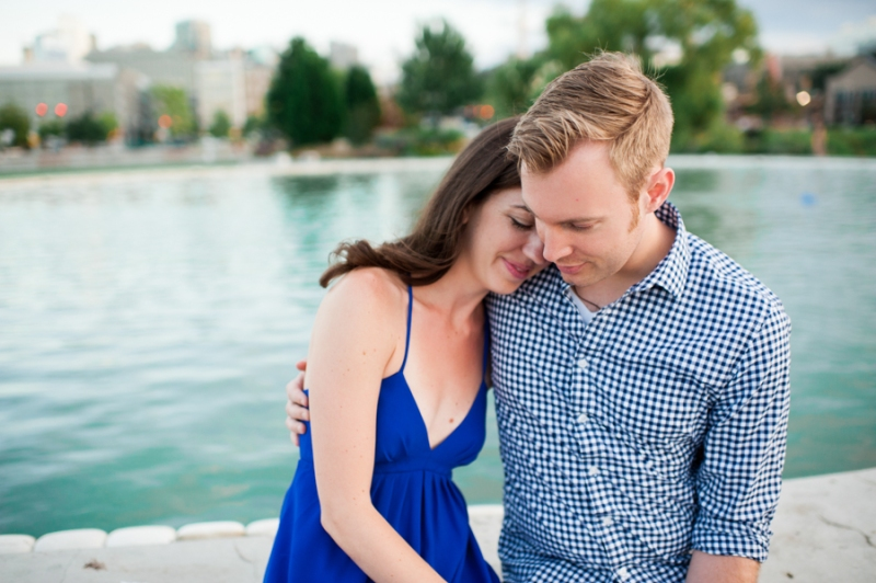 south lake union park engagement photos