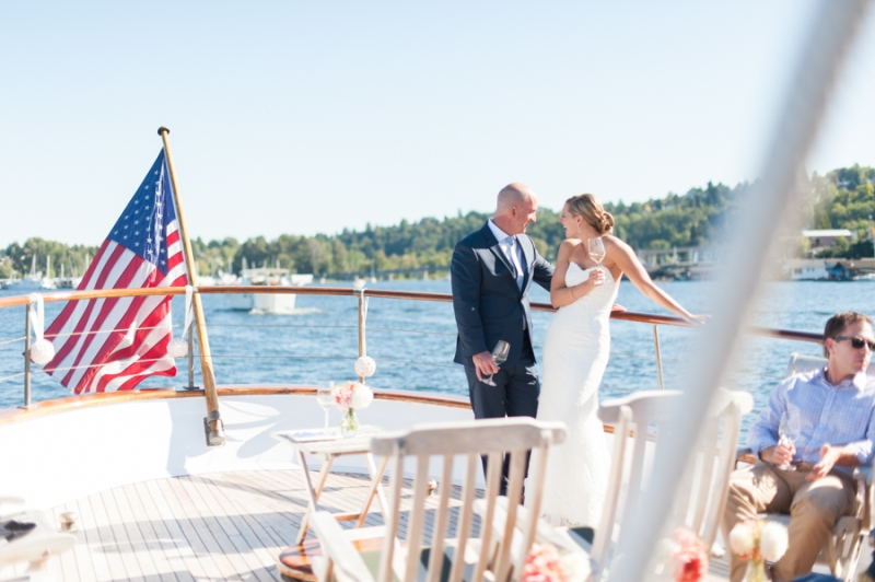 seattle nautical yacht wedding lake union