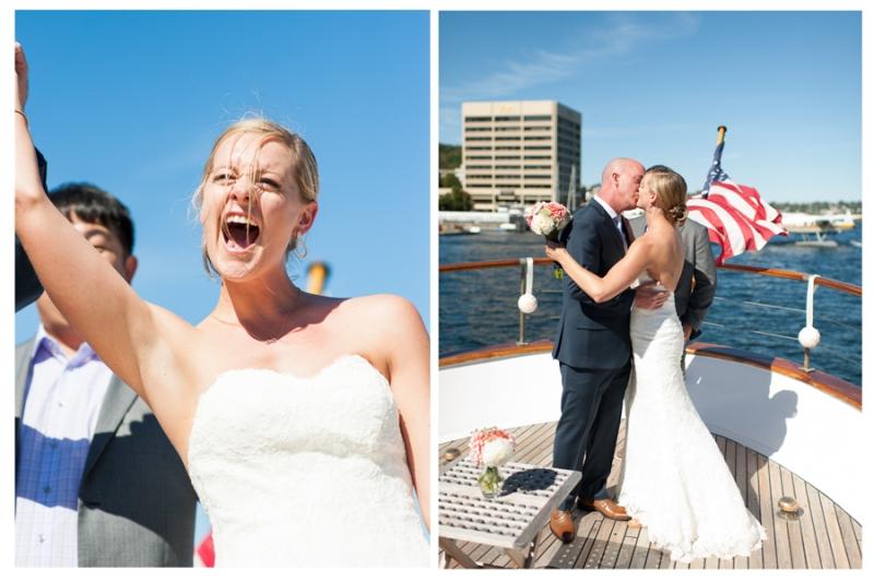 seattle nautical yacht wedding lake union