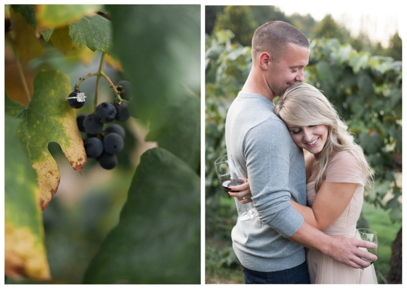 chateau ste michelle winery engagement photos
