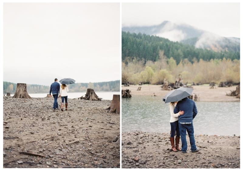 rattlesnake lake engagement session film