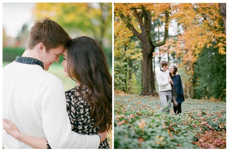 fuji 400h film redmond idylwood park fall foliage