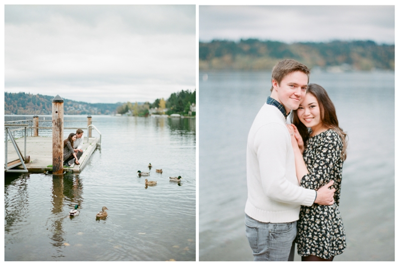 lake sammamish engagement session film