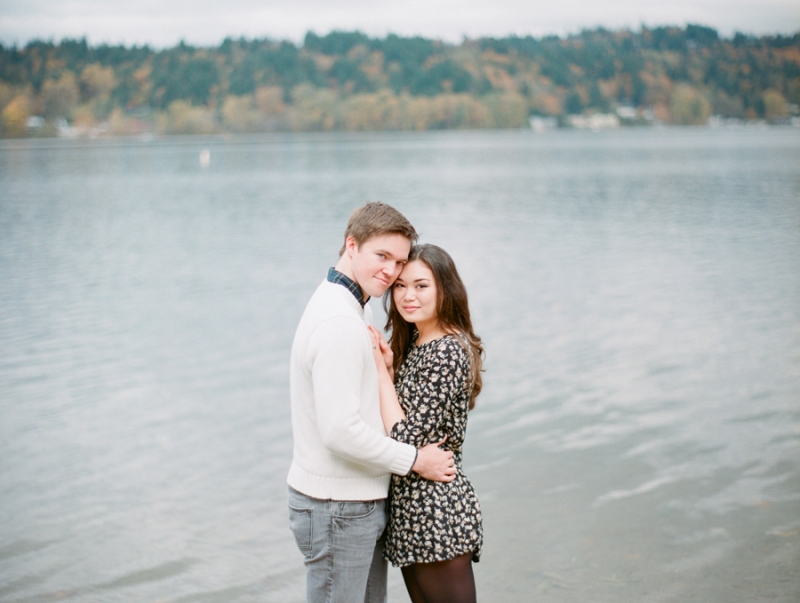 lake sammamish engagement photos film