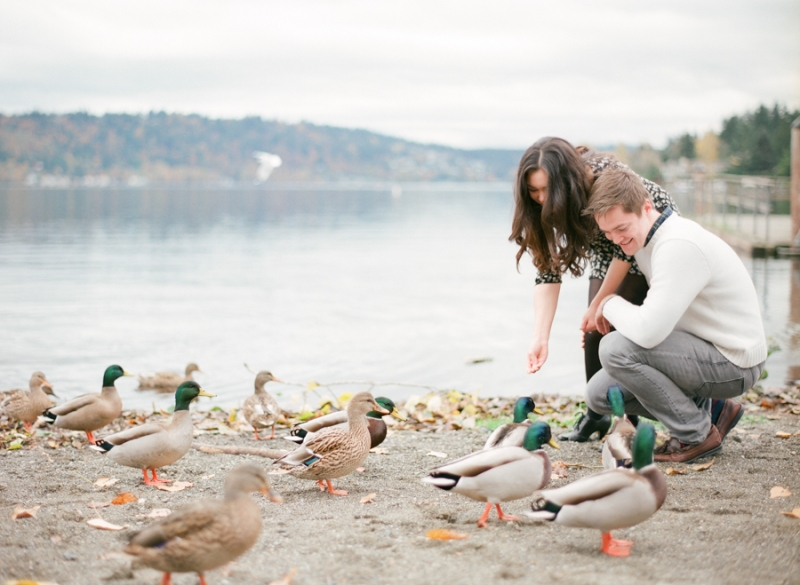 lake sammamish film engagement session seattle