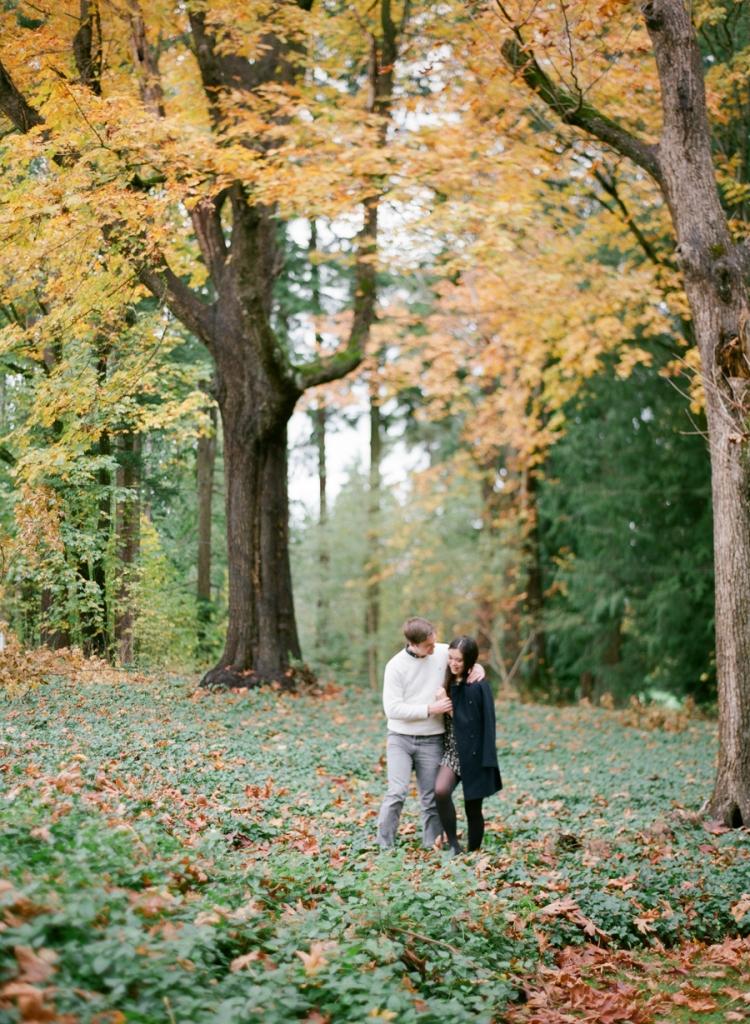 redmond idylwood park fall fuji 400h film