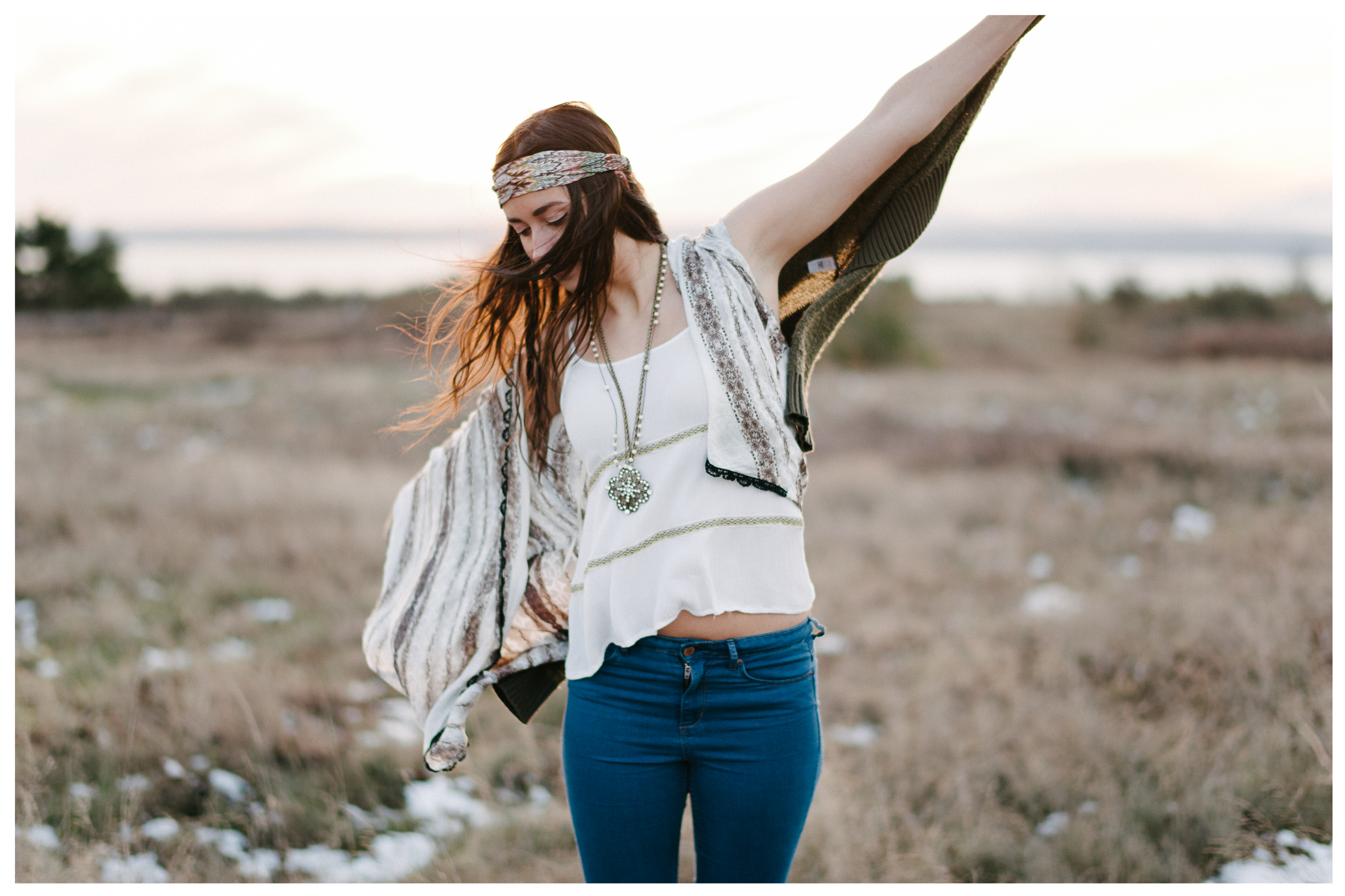 Bohemian Fashion Shoot In Seattle Tahlia Blue Rose