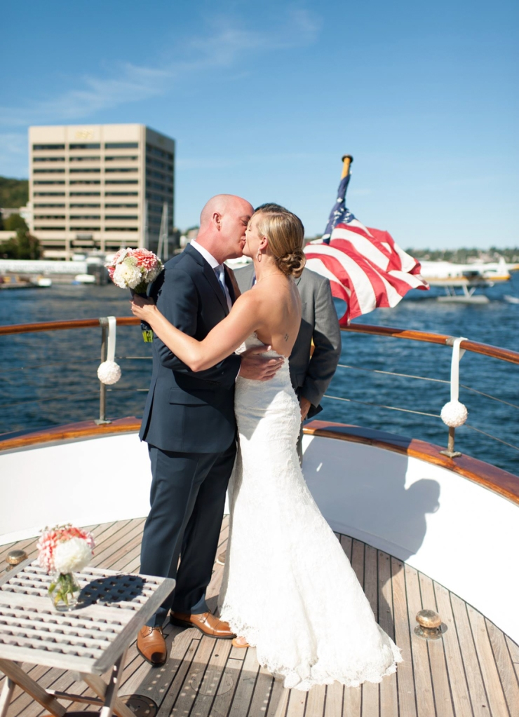 lake union wedding photographer nautical
