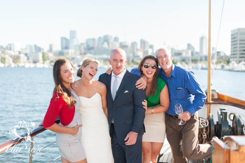 south lake union wedding photographer