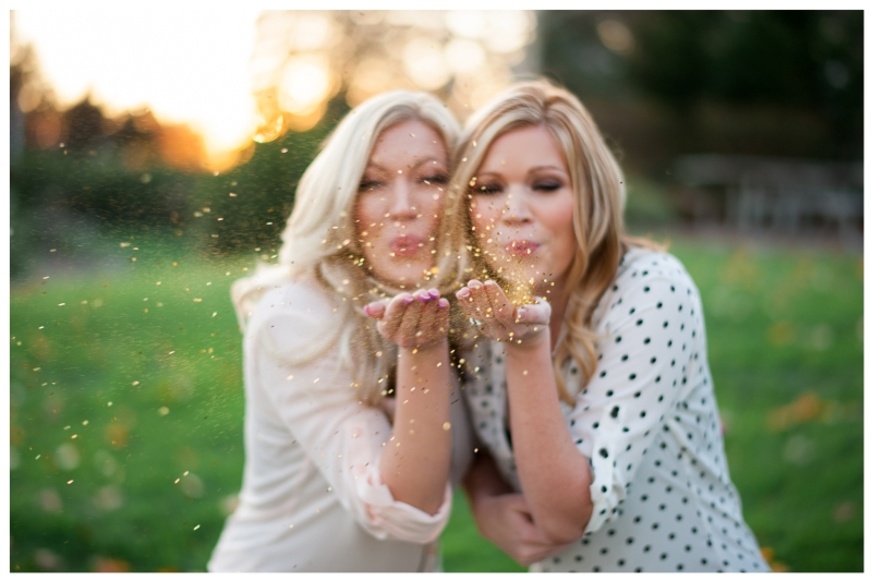 seattle wedding planner portraits glitter
