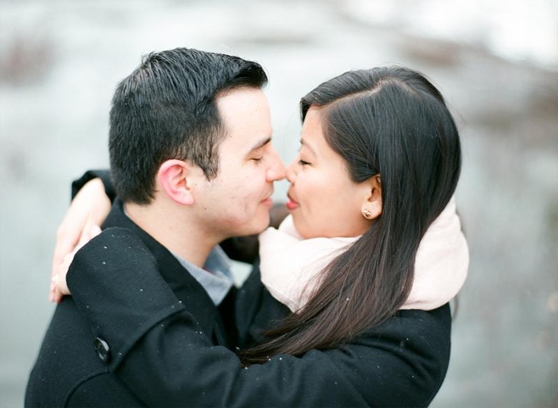 cle elum engagement photography film