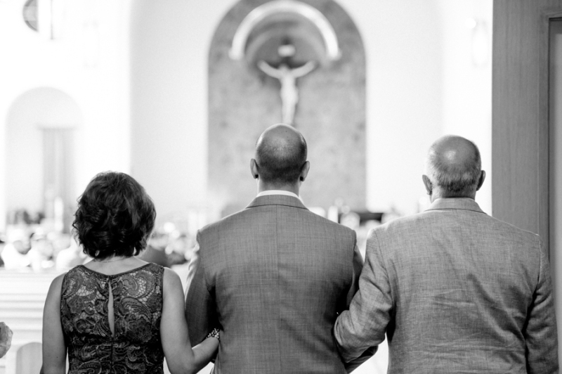 St Benedicts  catholic church wedding seattle