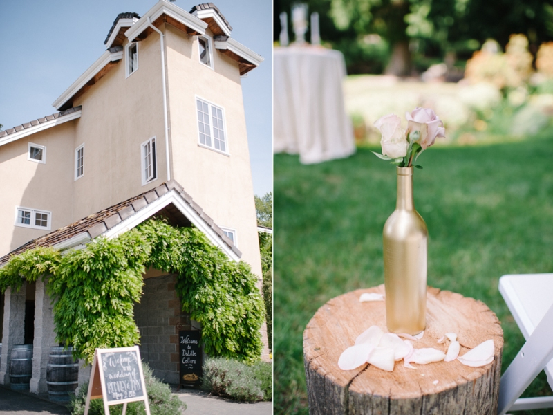 DeLille Cellars chateau Wedding woodinville wa