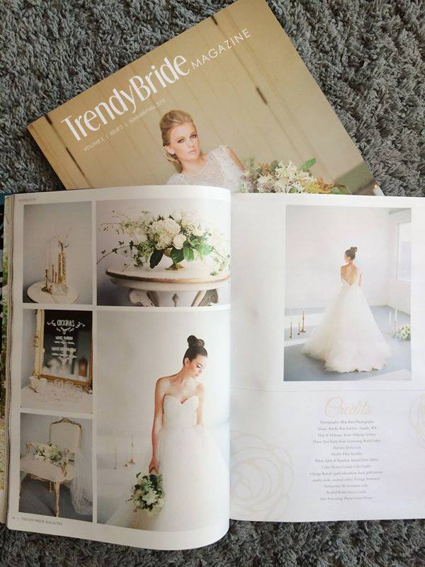 magazine published seattle wedding photographer