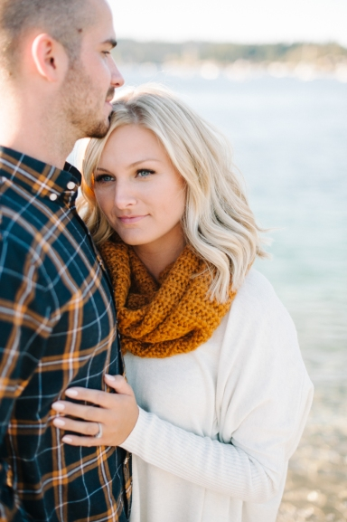 Gig Harbor Lighthouse Engagement Photos