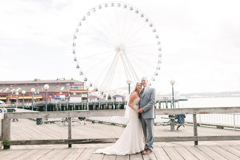 downtown seattle waterfront wedding