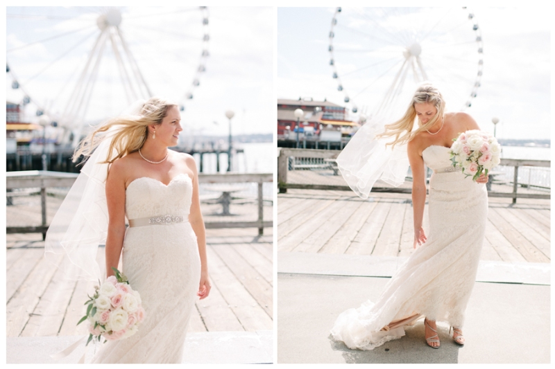 downtown seattle waterfront wedding