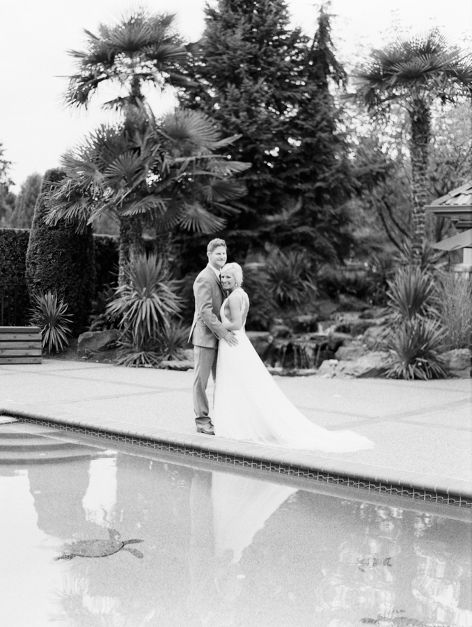 woodinville wedding photography bw film