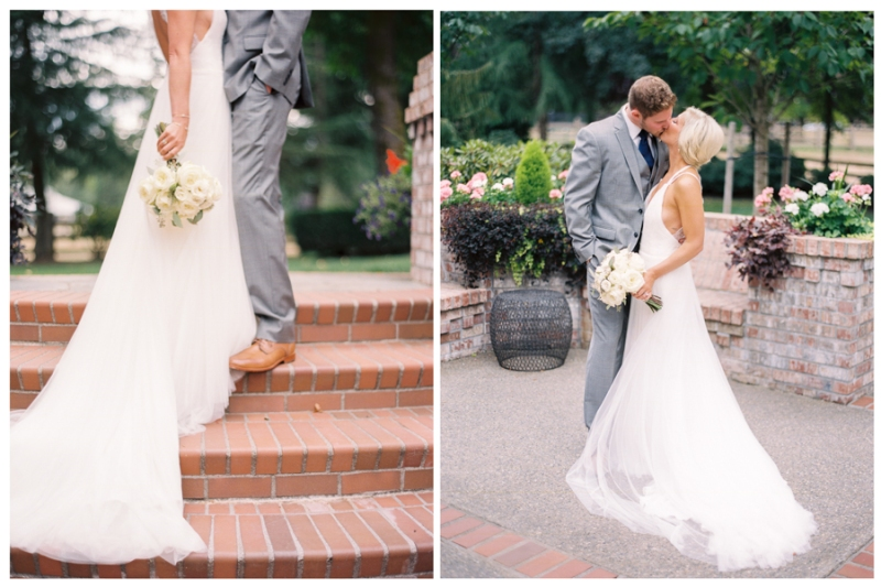 woodinville wedding photography film portra 800