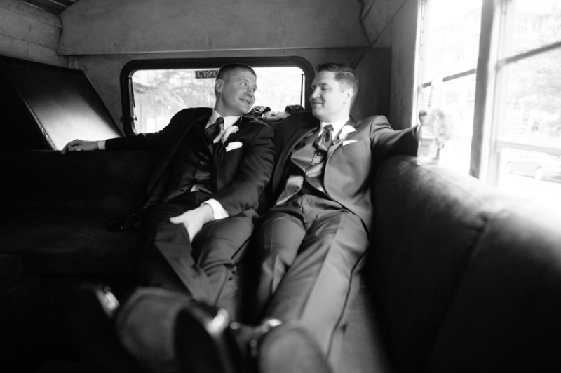 seattle party bus wedding day