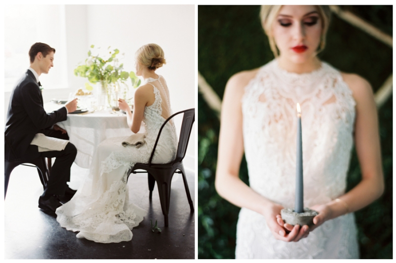modern industrial wedding inspiration seattle